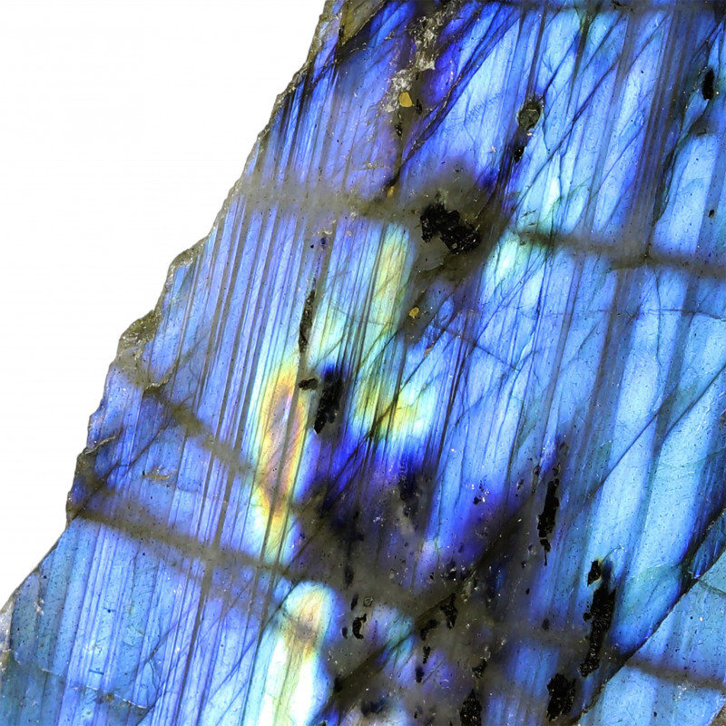 427.15 CTS  LABRADORITE -PART POLISHED