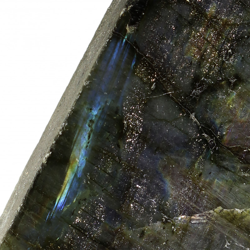 626.60 CTS  LABRADORITE -PART POLISHED