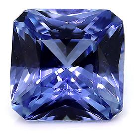 0.75 ct Emerald Cut Blue Sapphire (Rich Blue)
