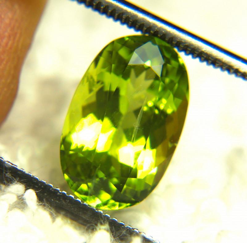 3.55 Carat Himalayan Green VS Peridot - Gorgeous