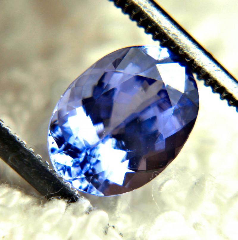 1.84 Carat VVS Purple Blue African VVS Tanzanite - Gorgeous