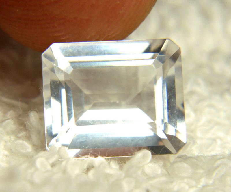 5.42 Carat Milky White Goshenite Beryl - Beautiful