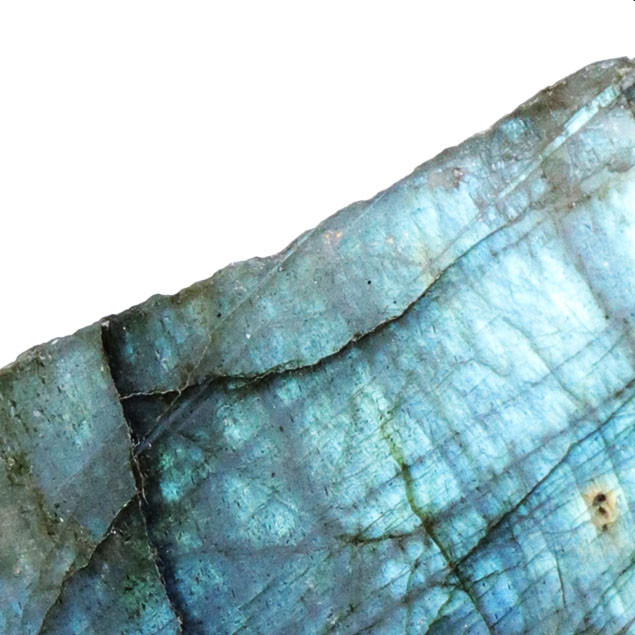 438.00 CTS  LABRADORITE -PART POLISHED