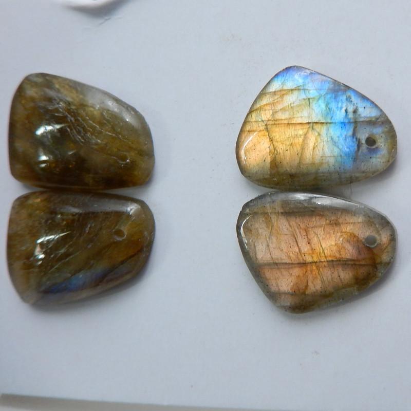 Labradorite ,Handmade Gemstone ,Labradorite Beads ,Lucky Stone C175