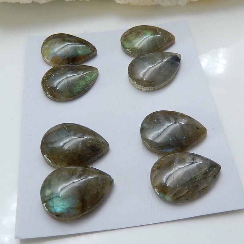 Labradorite ,Handmade Gemstone ,Labradorite Oval Beads ,Lucky Stone C177