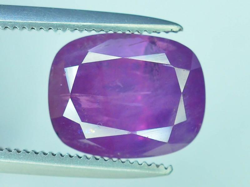 Top Grade 4.15 ct Rarest Pink Corundum Sapphire~Kashmir