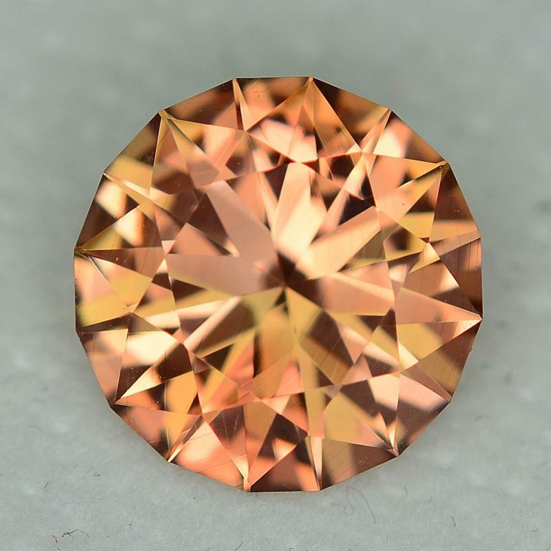 3.62 Carat VVS Sunstone WOW Golden Peach Flash Master Cut Exquisite Quality
