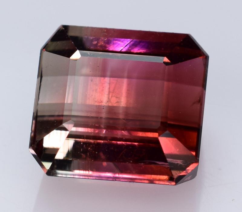 5.40 CaratsBi Color Tourmaline Gemstones