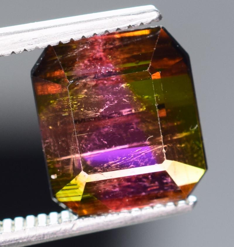 3.30 Carats  Bi Color Tourmaline Gemstones