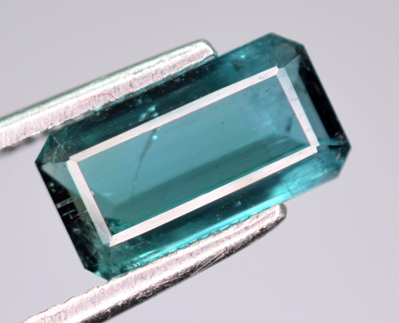 2 carats Fantastic  indicolite Tourmaline Gemstone From Afghanistan