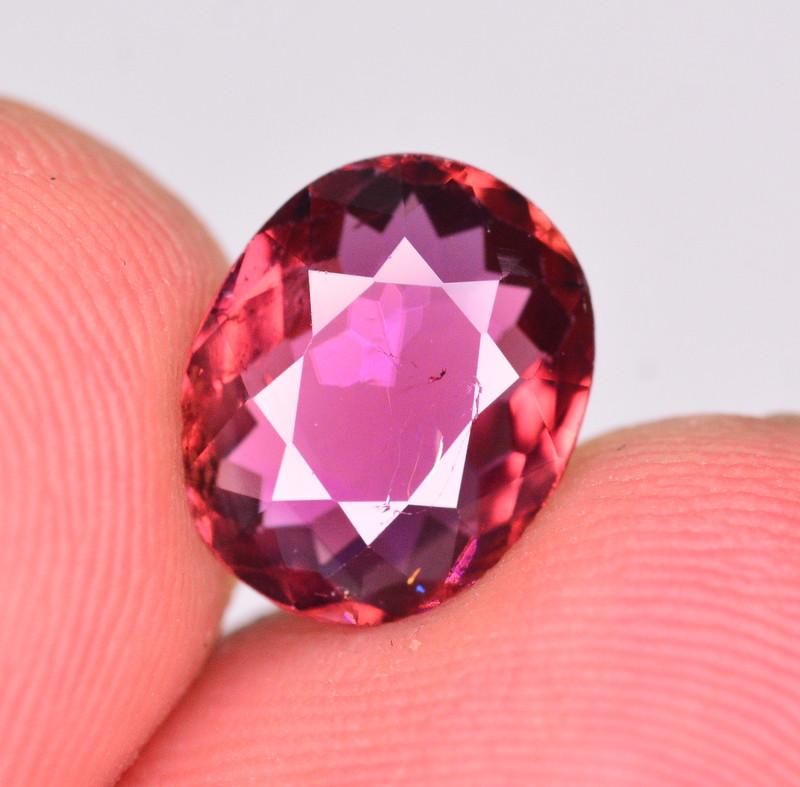 Brilliant Color 2.15 Ct Natural Purplish Pink Tourmaline