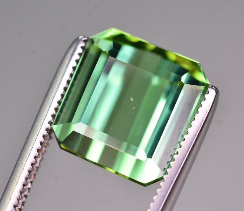 Great Color 6.05 Ct Natural Mint Green Tourmaline .AT2