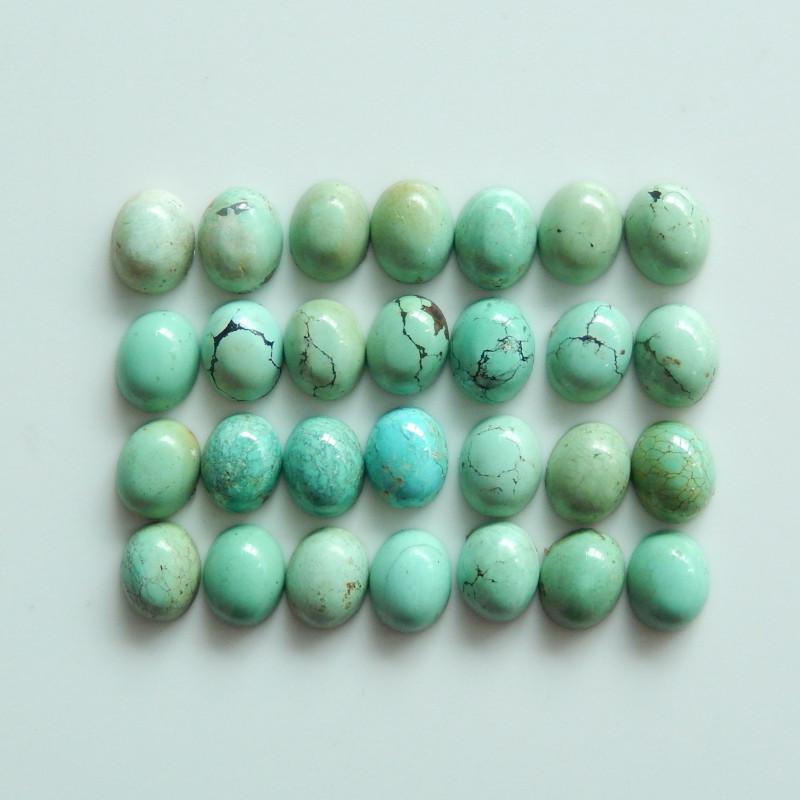 Beautiful Turquoise ,Handmade Gemstone ,Turquoise Cabochons ,Lucky Stone C2