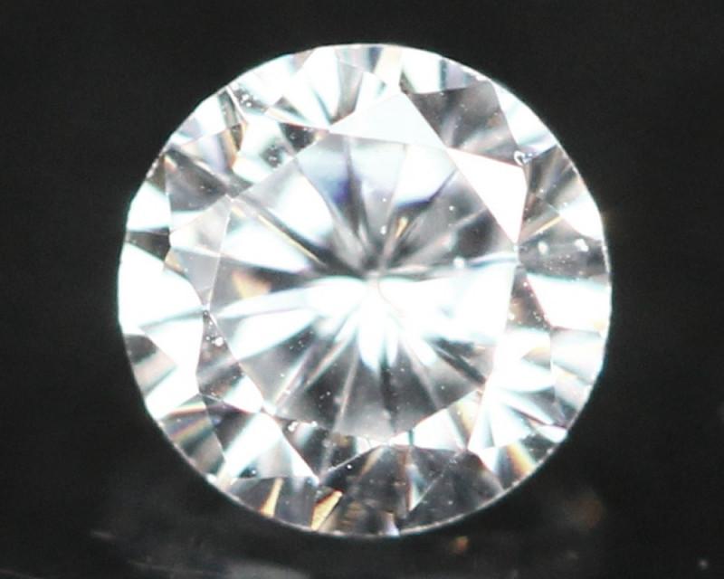 2.50mm D/E/F VS Natural Round Brilliant Cut Diamond