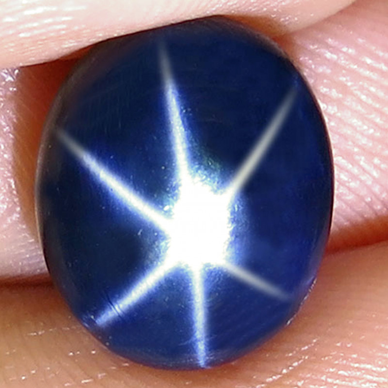 7.46 Carat Thailand Blue Star Sapphire - Gorgeous
