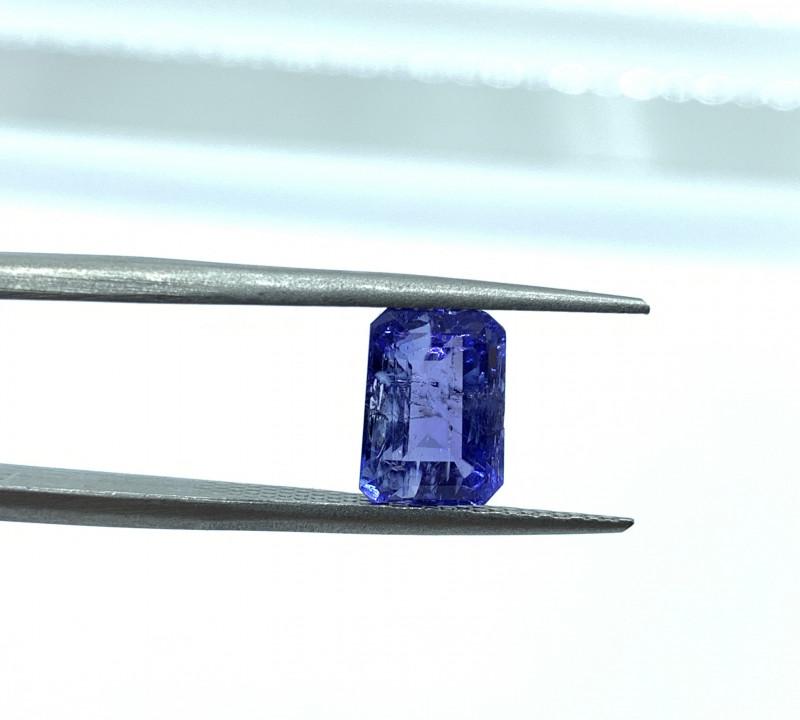 Tanzanite Loose Gemstone  - 2.61 carats  - Cut Octa Mix - IPGTL Certificate