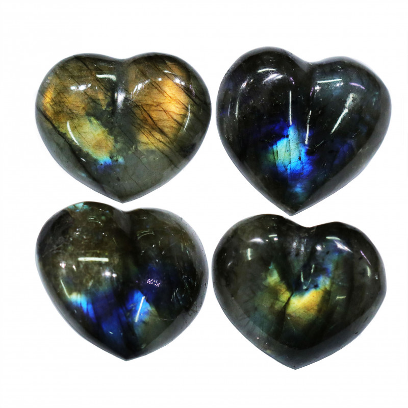 290.55CTSLABRADORITE HEART  PARCEL