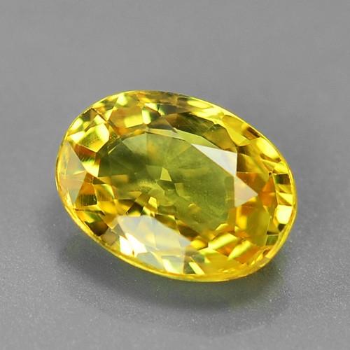 1.06 Carat Very Rare Yellow Color Sapphire Loose Gemstones