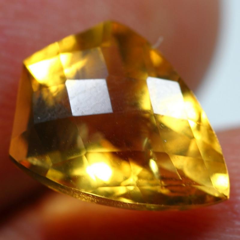12.30cts 3 Pcs Golden Yellow Citrine Parcel