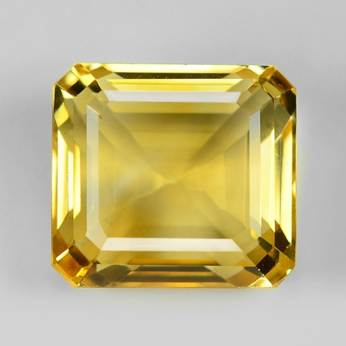 8.01 Ct Natural Citrine Awesome Color & Cut Gemstone CT18