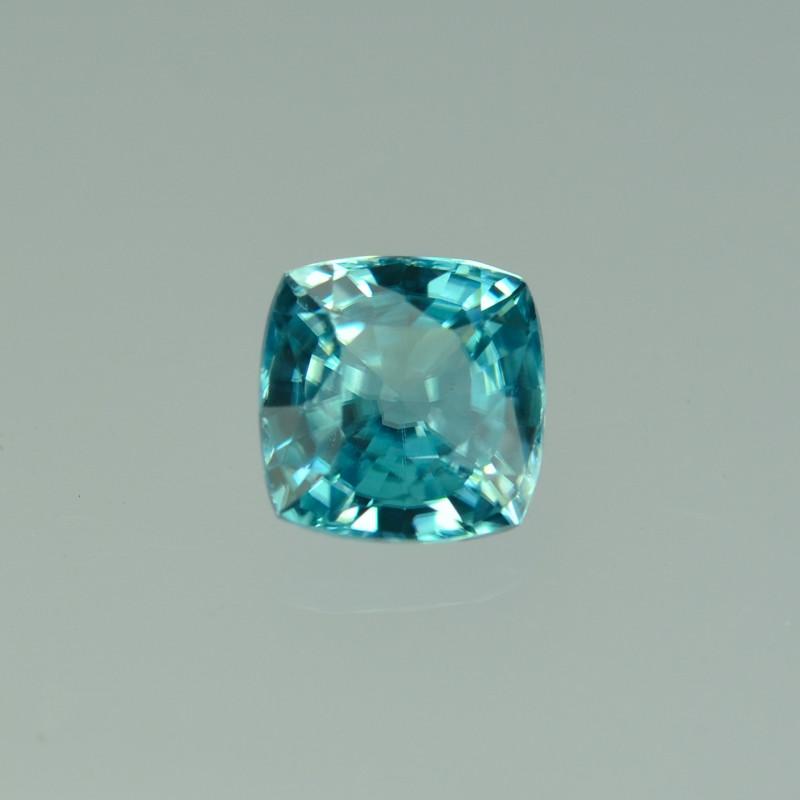 2.25 Cts Fabulous Lustrous Cambodian Blue Zircon