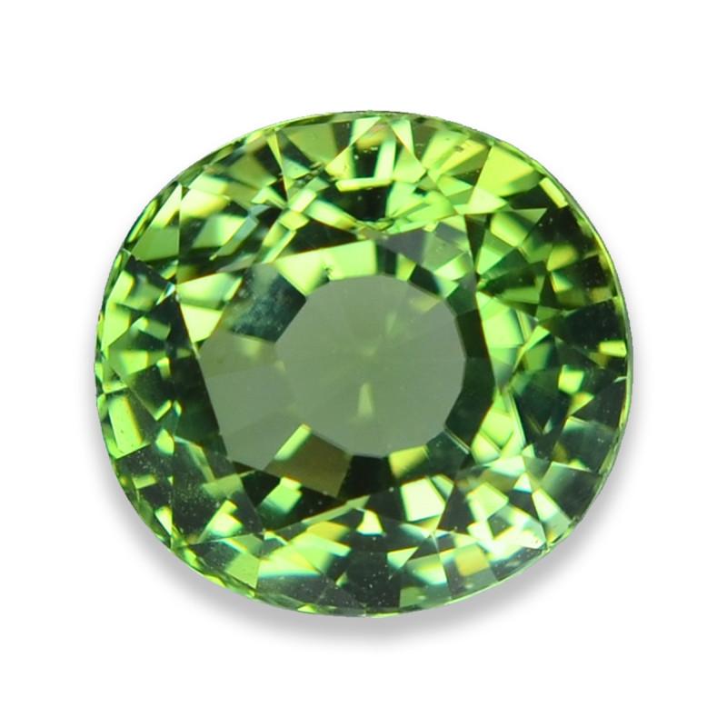 8.25 Cts Wonderful Lustrous Mozambique Green Tourmaline