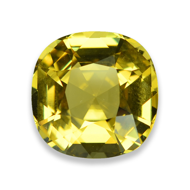11.32 Cts Marvelous Lustrous Yellow Tourmaline