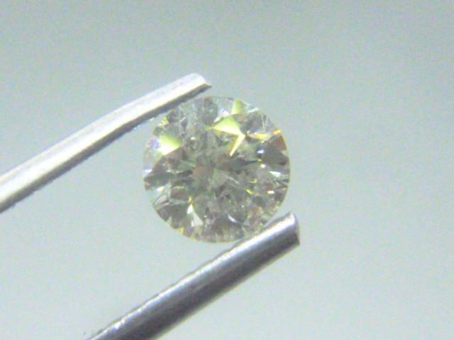 0.71ct  L-I1 Diamond , 100% Natural Untreated