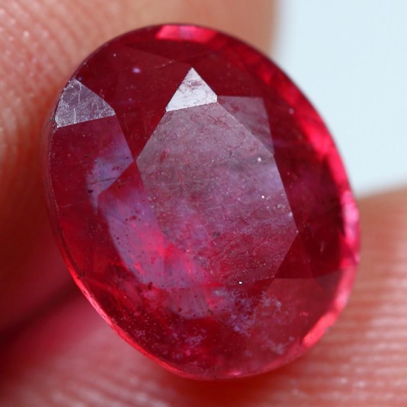 5.10cts Wonderful Blood Red Ruby Gemstone
