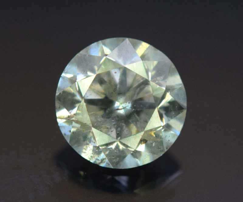 Certified  0.51 Carats Round Cut Natural WHITE DIAMOND loos
