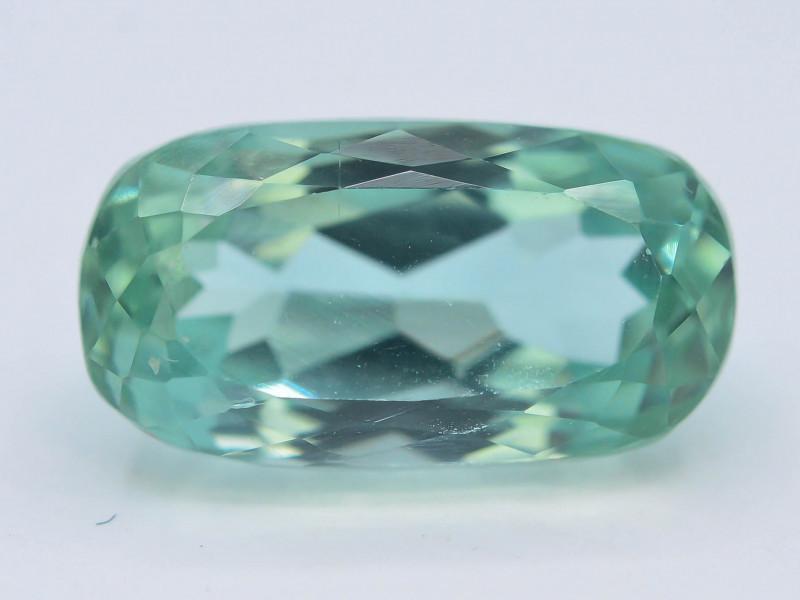 7.30 Ct Green Spodumene Gemstone From Afghanistan~ G AQ