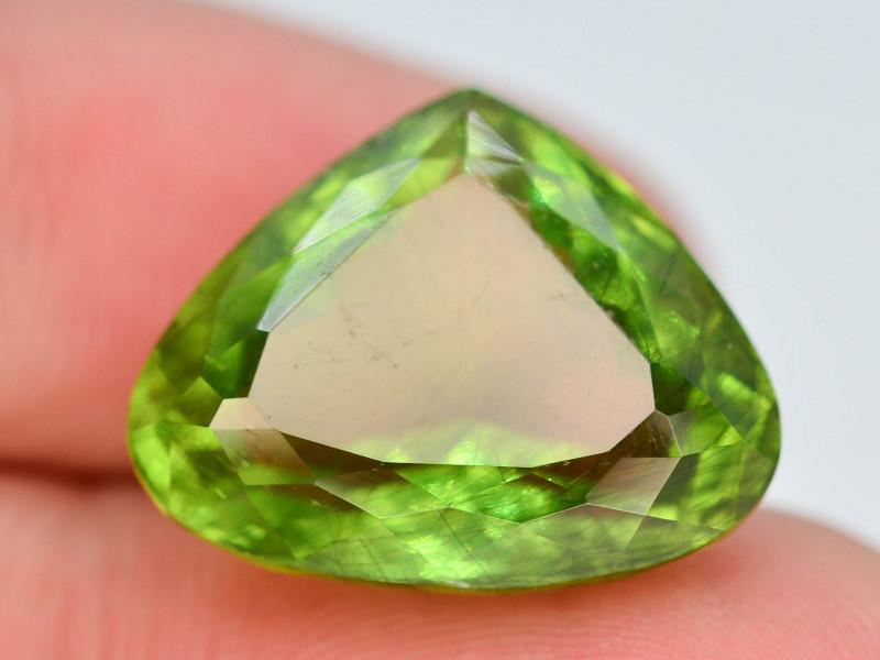 AAA Color 13 ctNatural Rotile Green Peridot ~ AD