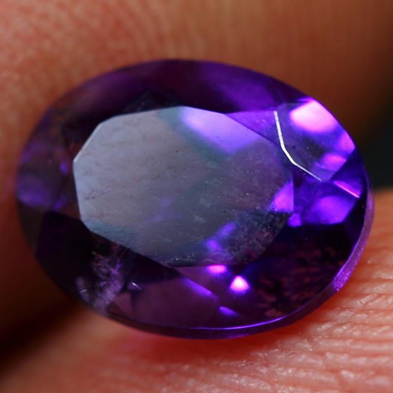 2.00cts Wonderful Purplish Africa Amethyst  Cutting Gemstone
