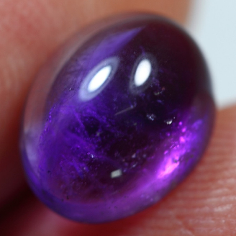 3.10cts Wonderful African Amethyst Cabochon Gemstone