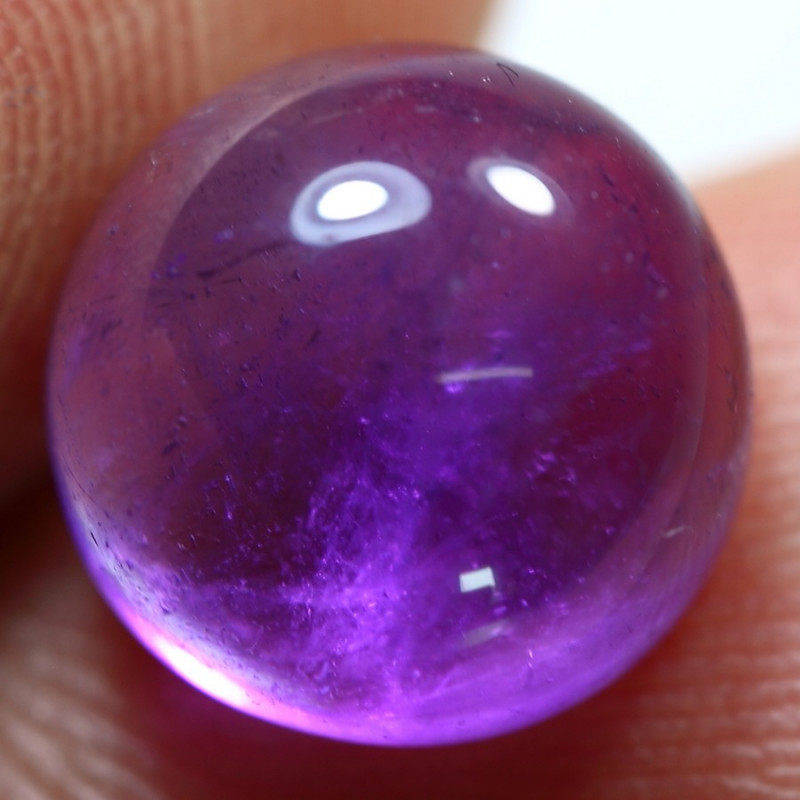 4.10cts Remarkable African Amethyst Cabochon Gemstone