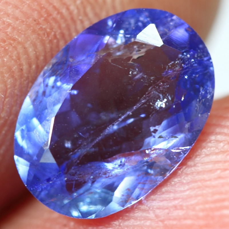2.20cts Perfect Blue Purplish Tanzanite Gemstone