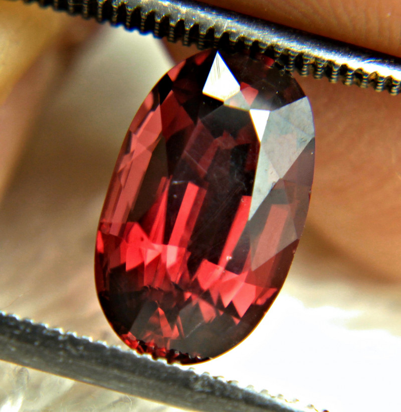 3.53 Carat Fiery Purple Red VS Garnet - Gorgeous