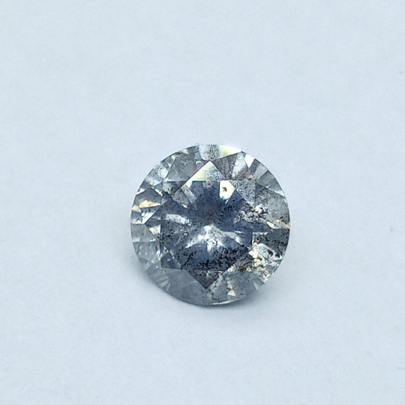 0.78ct  Fancy bluish Gray Diamond , 100% Natural Untreated