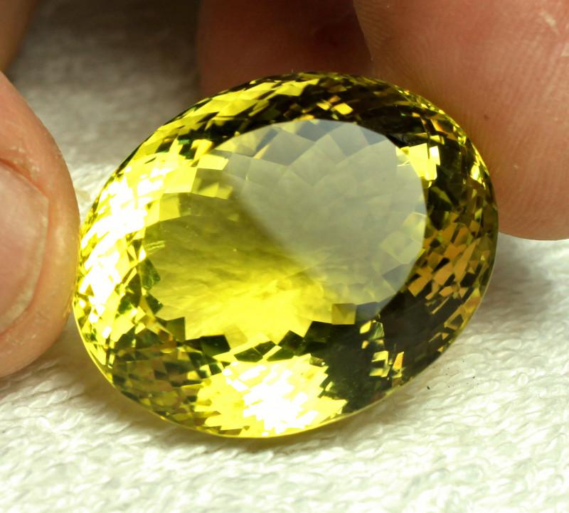 88.50 Carat African VVS Lemon Quartz - Gorgeous