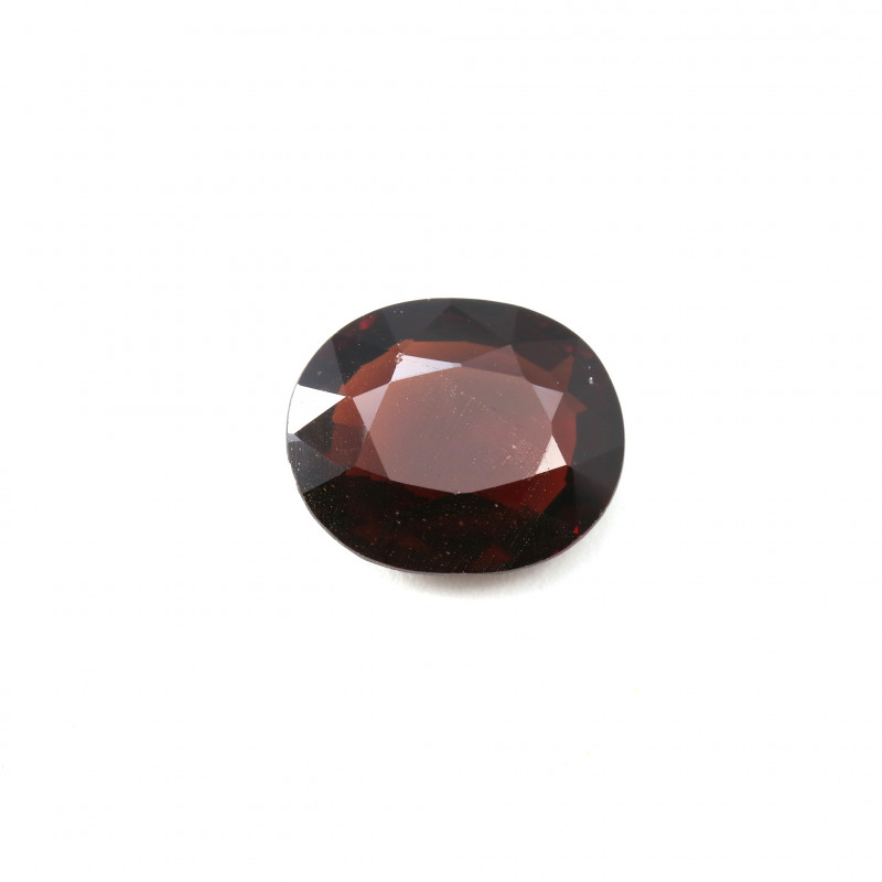 CERTIFIED 6.45ct. RED BURMESE SPINEL - OVAL CUT