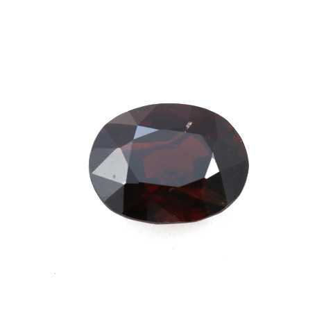 CERTIFIED 4.77ct. RED BURMESE SPINEL - OVAL CUT