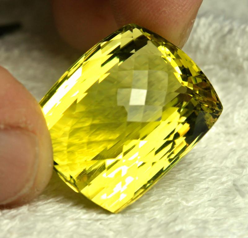 65.5 Carat African VVS Lemon Quartz - Gorgeous