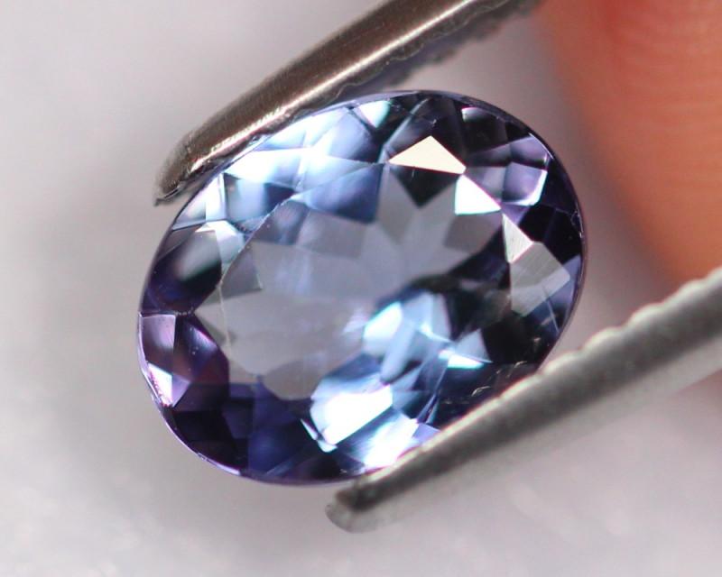 1.41cts Natural Violet Blue D Block Tanzanite / DD43