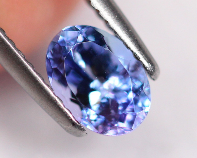 1.08cts Natural Violet Blue D Block Tanzanite / DD74