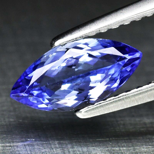 1.66 ct  Top Stone ! Color IF Natural Tanzanite Certified