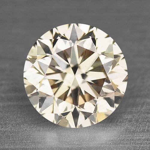 0.48 Cts Untreated Natural Fancy Pinkish Brown Color Loose Diamond SI1