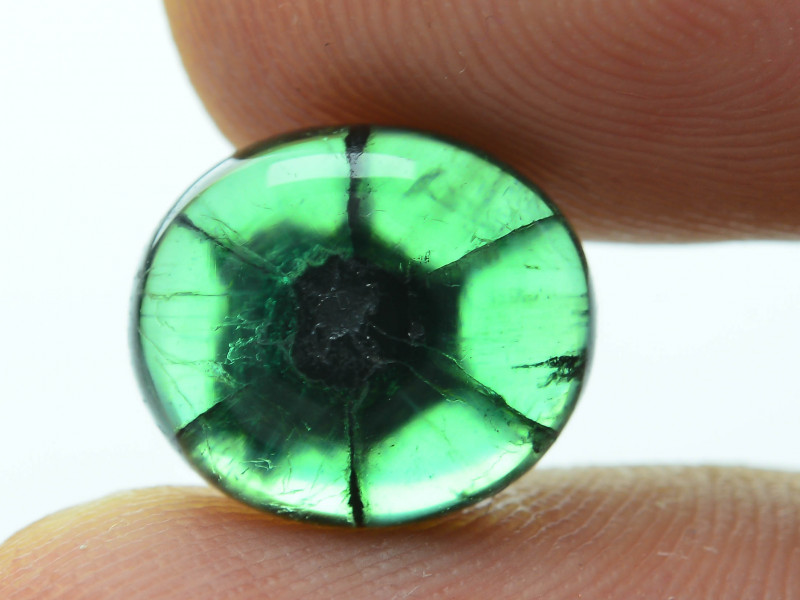 3bdf73c99d06a AIG Certified AAA Grade 3.75 ct Colombian Trapiche Emerald SKU-29
