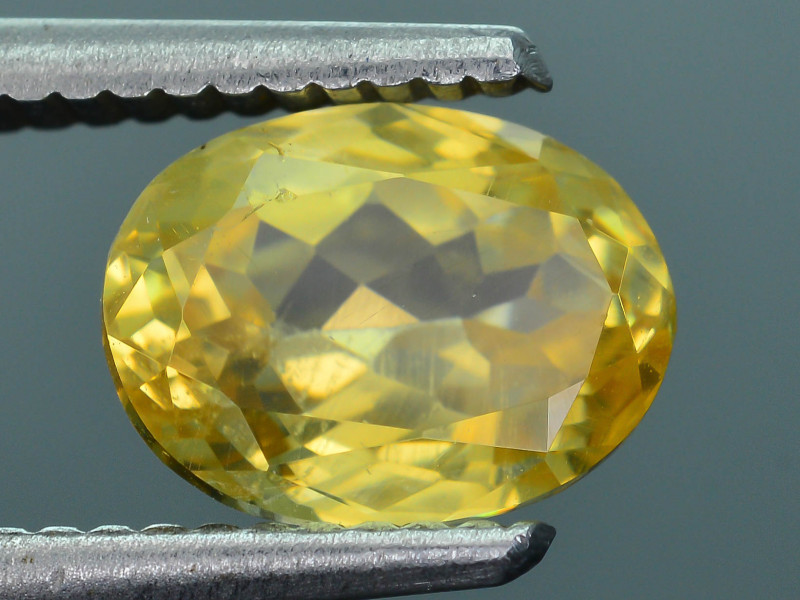 Yellow Tantalite 4.0 ct Extreme Rare Collector's Gem