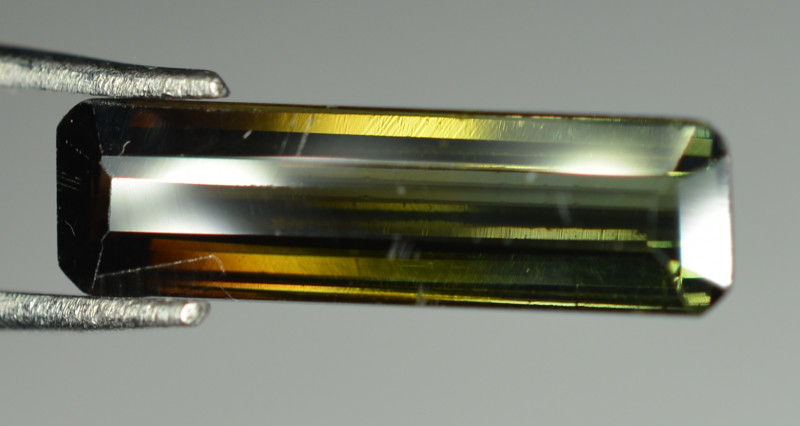 3.90 Cts Bi Colour Tourmaline From Africa