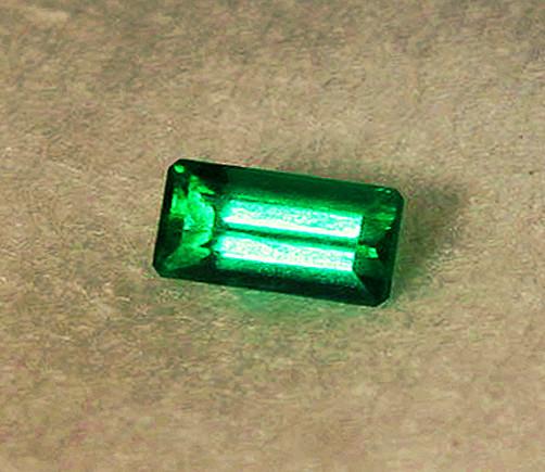 0.56 ct High-End Zambian Emerald Certified!